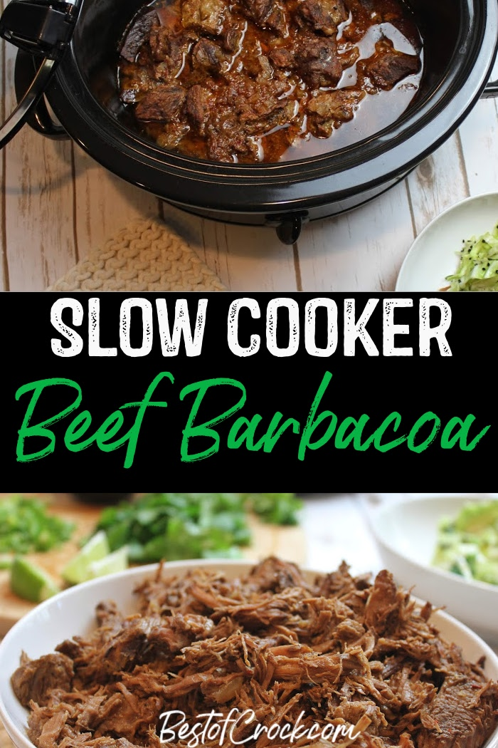Our delicious beef barbacoa crock pot recipe is full of flavor and perfect for tacos, fajitas, beef bowls, burritos and more making delicious family dinners that everyone will love. Mexican Recipes | Crockpot Dinner Recipes | Low Carb Mexican Recipe | Keto Crockpot Recipes | Beef Crockpot Recipes #crockpot #recipe via @bestofcrock