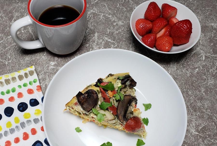 Healthy Crockpot Breakfast Casserole Recipe