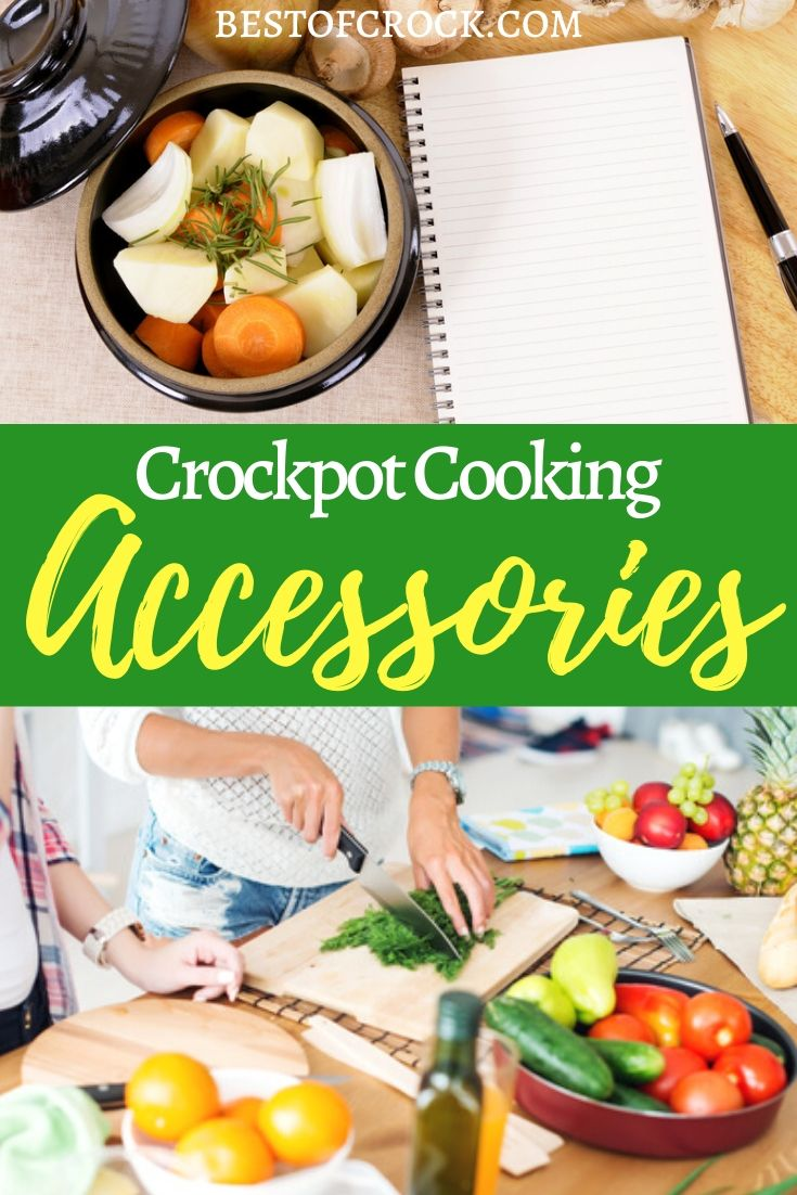 Crockpot cooking accessories on Amazon can help you cook the best crockpot recipes and learn new ways to use a crockpot! Crockpot Express Accessories | Crockpot Pressure Cooker Accessories | Slow Cooker Tips | Crockpot Tips for Beginners | Using a Crockpot | Crockpot Dinner Recipes | Easy Crockpot Recipes | Crockpot Meals | Crockpot Soup Recipes #crockpot #amazon via @bestofcrock