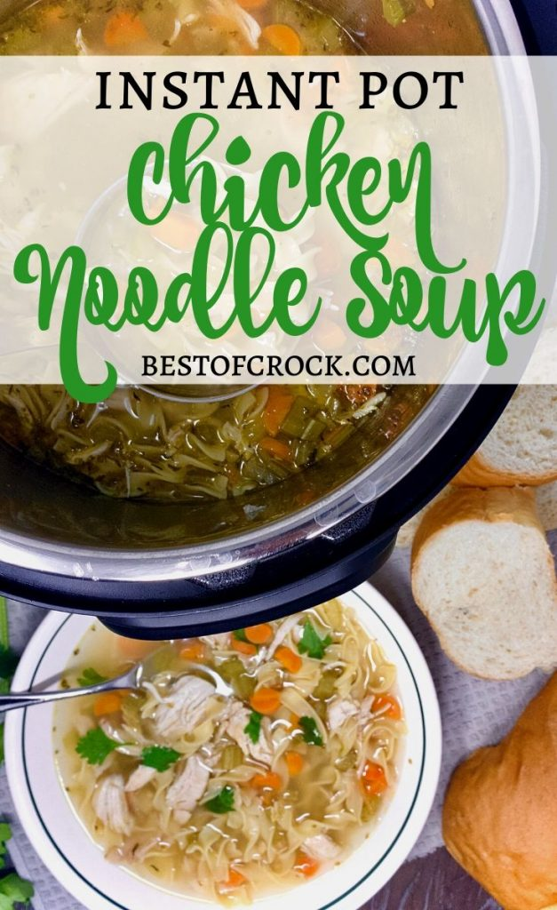 Instant pot chicken noodle soup is easy to make and a comfort food everyone enjoys any time of the year. Homemade Chicken Noodle Soup Recipes | Chicken Noodles Soup Rotisserie | Healthy Soup Recipe | Instant Pot Soup Recipe | Healthy Instant Pot Recipe | Easy Instant Pot Recipe #InstantPot #Healthy
