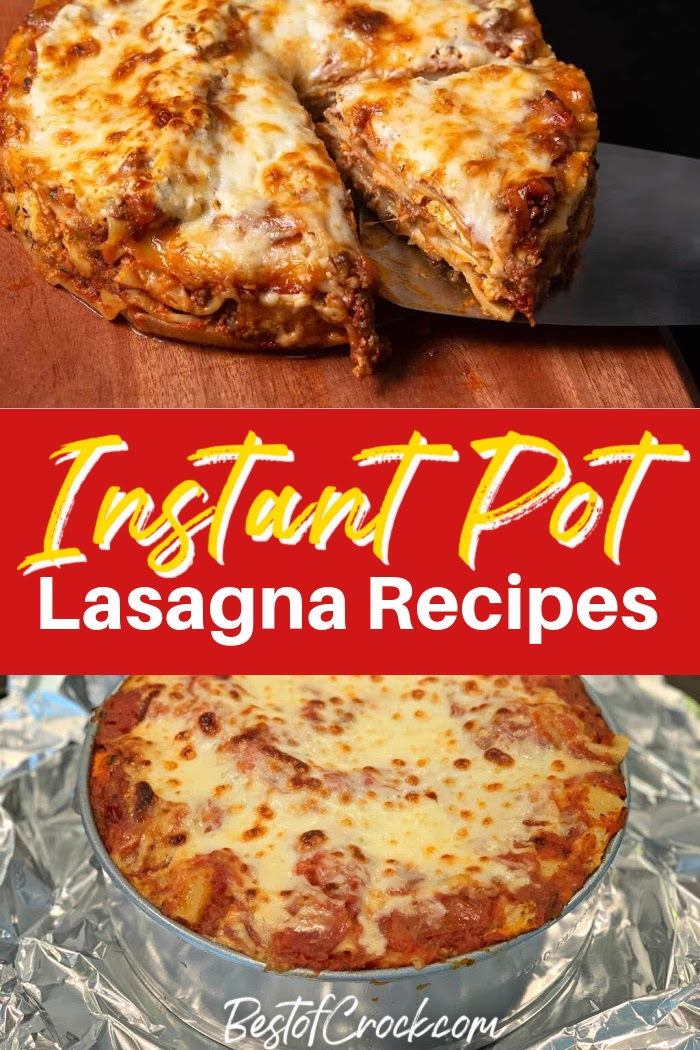 Finding the best Instant Pot recipes means finding time-saving recipes that produce the best family meals like Instant Pot lasagna recipes. Instant Pot Recipes | Instant Pot Dinner Recipes | Instant Pot Pasta Recipes | Easy Dinner Recipes | Meal Prep Dinner Recipes #instantpot #dinnerrecipes via @bestofcrock