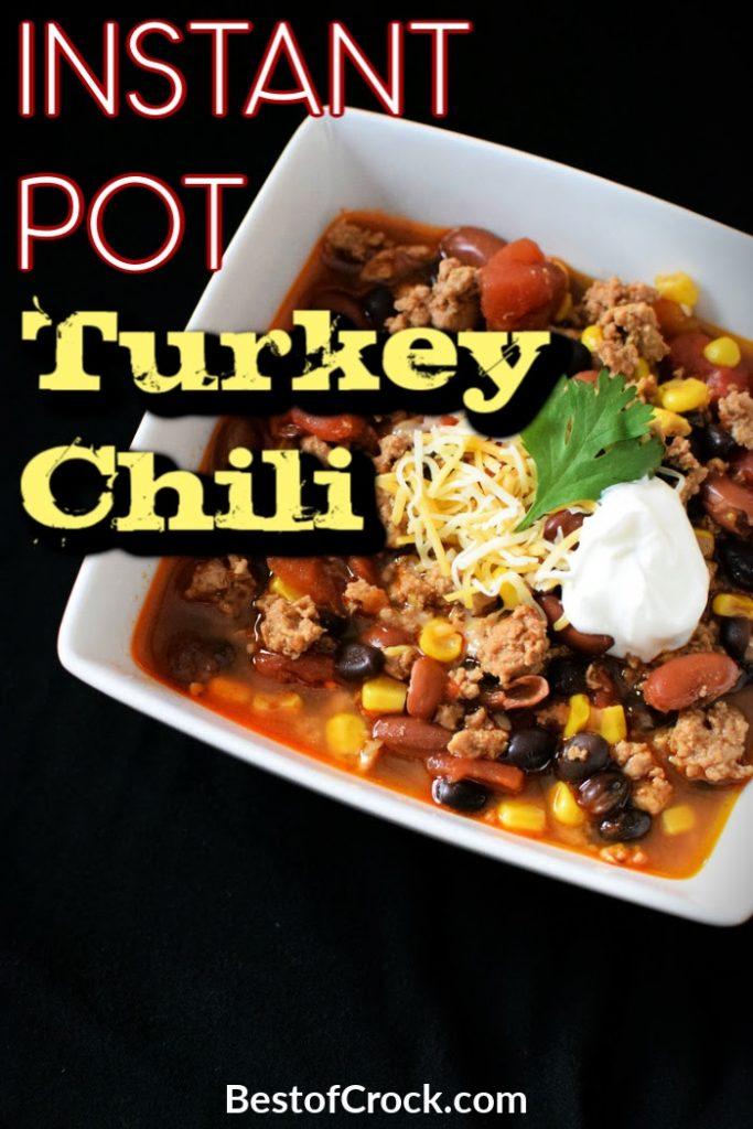 Instant Pot turkey chili recipes can provide you with an easy dinner and plenty of room to experiment with the best chili ingredients. Instant Pot Recipes   Instant Pot Dinner Recipes   Instant Pot Lunch Recipes   Turkey Chili Ideas   Turkey Chili Recipes Instant Pot   Healthy Chili Recipes #chili #instantpot