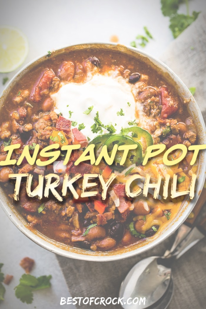 Instant Pot turkey chili recipes can provide you with an easy dinner and plenty of room to experiment with the best chili ingredients. Instant Pot Recipes   Instant Pot Dinner Recipes   Instant Pot Lunch Recipes   Turkey Chili Ideas   Turkey Chili Recipes Instant Pot   Healthy Chili Recipes #chili #instantpot via @bestofcrock