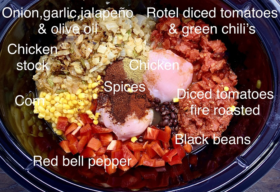 Crockpot chicken tortilla soup a delicious and easy homemade soup recipe!  Add it to your meal prep for the week; this recipe also scales easily for larger groups! Slow Cooker Chicken Tortilla Soup   Rotisserie Chicken Tortilla Soup Slow Cooker   Creamy Chicken Tortilla Soup Slow Cooker   Healthy Chicken Tortilla Soup Slow Cooker   Crockpot Tortilla Soup