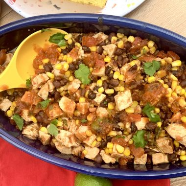 Crockpot salsa chicken is an easy crockpot recipe that can be used with chips, on top of salads, in tacos, or on its own for a low carb snack. Healthy Salsa Chicken   Mexican Salsa Chicken   Salsa Chicken Crockpot   What to Serve with Salsa Chicken   Salsa Chicken Casserole   Shredded Salsa Chicken