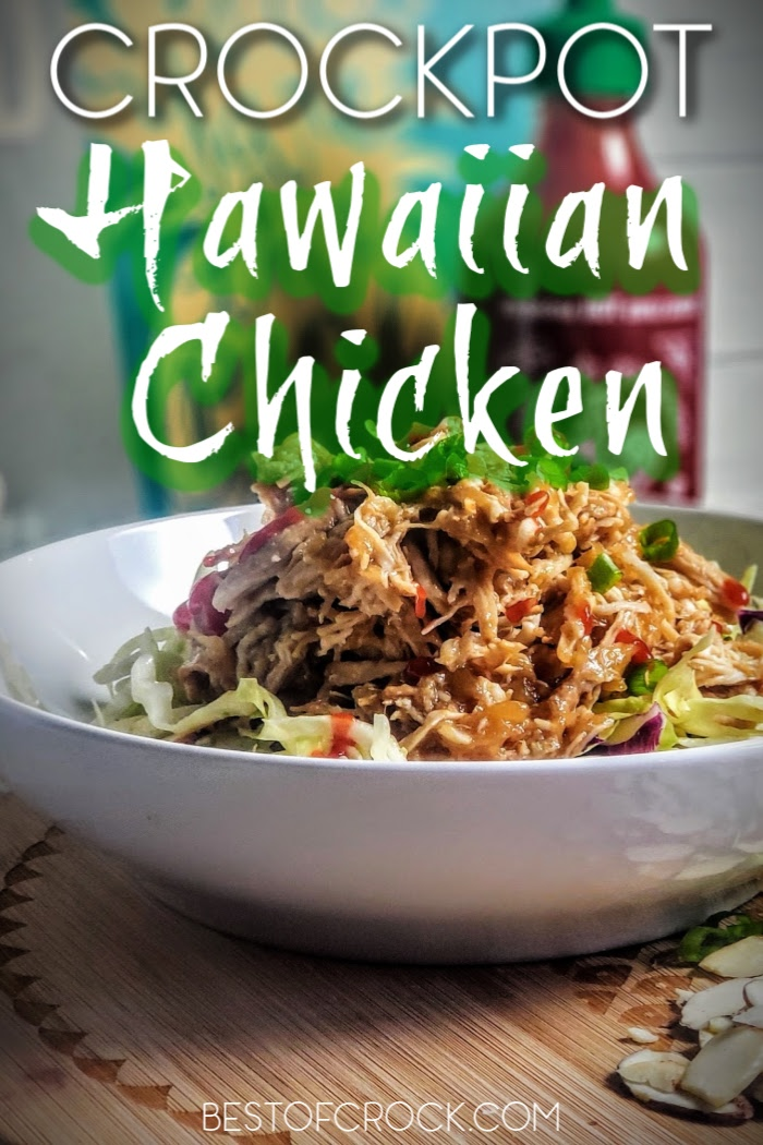 Enjoy this easy and delicious crockpot Hawaiian chicken recipe! It is also gluten and dairy-free making it perfect for healthy meal planning. Crockpot Chicken Recipes | Slow Cooker Chicken Recipes | Hawaiian Chicken at Home | Hawaiian Chicken Recipe Slow Cooker | Gluten Free Chicken Recipes | Dairy Free Chicken Recipes | Healthy Chicken Crockpot Ideas #Hawaiian #crockpot via @bestofcrock