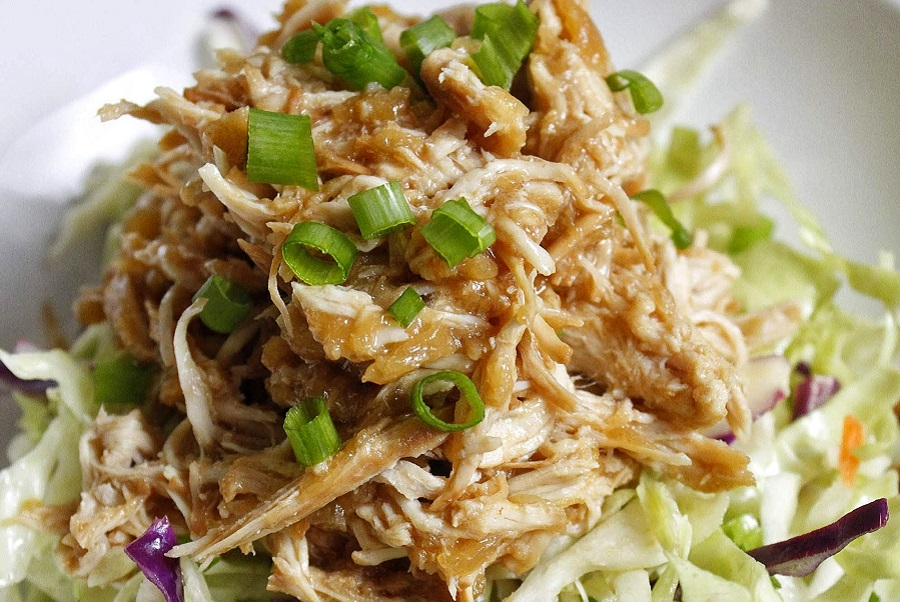 Enjoy this easy and delicious crockpot Hawaiian chicken recipe! It is also gluten and dairy-free making it perfect for healthy meal planning. Hawaiian Chicken Recipe Crockpot | Sweet Hawaiian Chicken | Types of Hawaiian Chicken | Hawaiian Chicken Sides | Sweet Hawaiian Crockpot Chicken | Hawaiian Pulled Chicken Slow Cooker | Crockpot Chicken Pineapple Brown Sugar