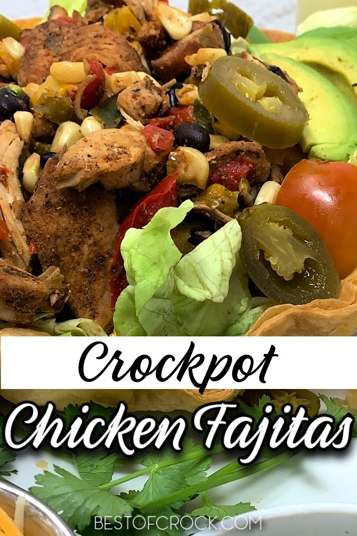 Crockpot chicken fajitas with frozen corn make for an easy delicious crockpot dinner that is a family-approved recipe. Easy Crockpot Recipes | Crockpot Recipes with Chicken | Crockpot Recipes with Frozen Vegetables | Crockpot Chicken Fajitas Frozen | Slow Cooker Dinner Recipes #crockpot #crockpotrecipes #slowcooker via @bestofcrock