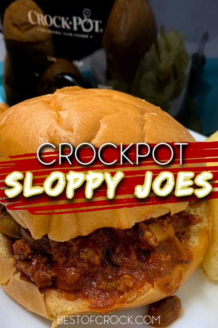 Crockpot Sloppy Joes are not only an easy dinner recipe but a fun recipe for kids to enjoy that parents can reminisce over. Lunch Recipes for Kids | Dinner Recipes for Kids | Fun Recipes for Family Dinner | Sloppy Joes Recipe Crockpot | Sloppy Joes at Home | Crockpot Recipes with Beef | Slow Cooker Beef Recipes #crockpot #recipe via @bestofcrock