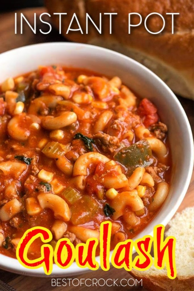 It is easier than you may think to make Instant Pot goulash recipes for family dinners or even as date night dinners that will surely impress. Easy Ground Beef Recipes | Pressure Cooker Goulash | Ground Beef Dinner Recipes | Ground Beef Pasta Recipe | Goulash Recipes Easy Ground Beef #instantpot #recipe