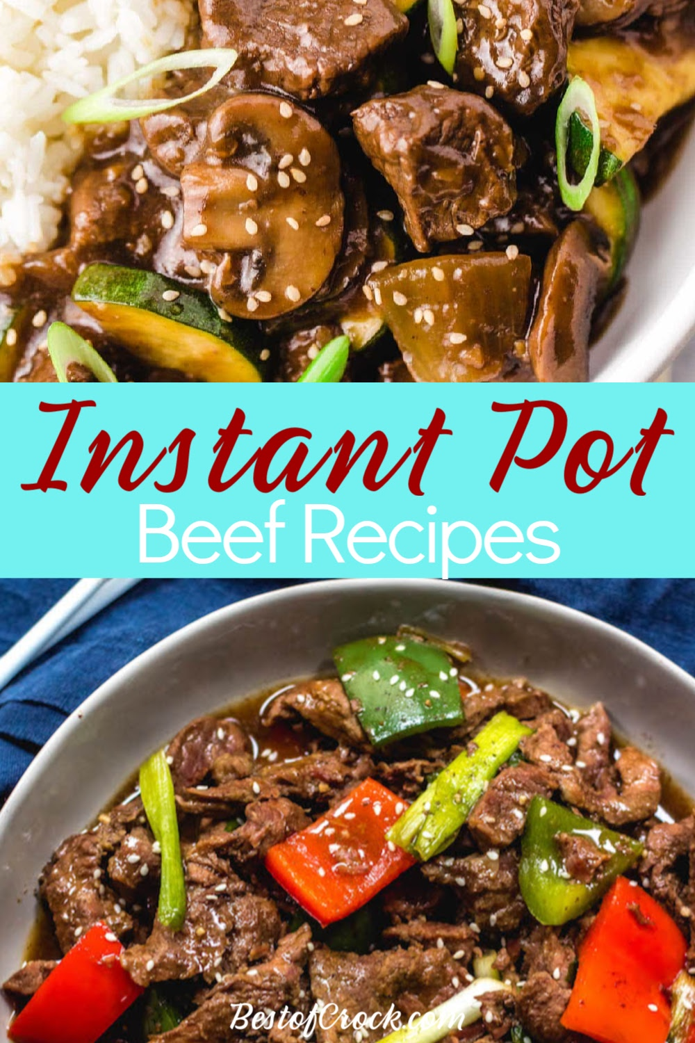 Healthy Instant Pot meals with beef are easy pressure cooker recipes that you can make for family dinners or large gatherings. Beef Pressure Cooker Recipes | Pressure Cooker Dinner Recipes | Instant Pot Dinner Recipes | Family Dinner Recipes with Beef | Beef Recipes for Parties | Dinner Party Recipes #instantpot #beef via @bestofcrock