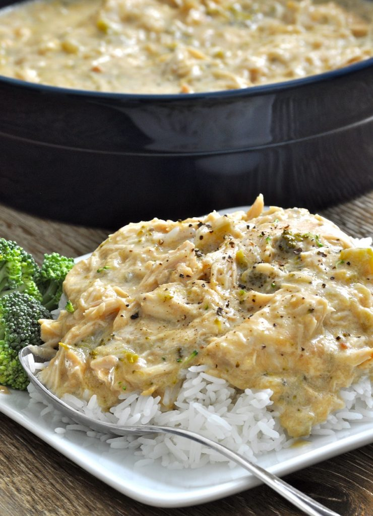 Slow cooker chicken and rice an easy crockpot recipe that will help with meal planning so you can save time in the kitchen and serve a meal everyone enjoys. Crockpot Chicken and Rice Stew | Cheesy Chicken and Rice Crockpot Recipes | Southern Chicken and Rice Slow Cooker Recipe | Crockpot Chicken and Rice with Canned Soup | Crockpot Chicken and Long Grain Rice