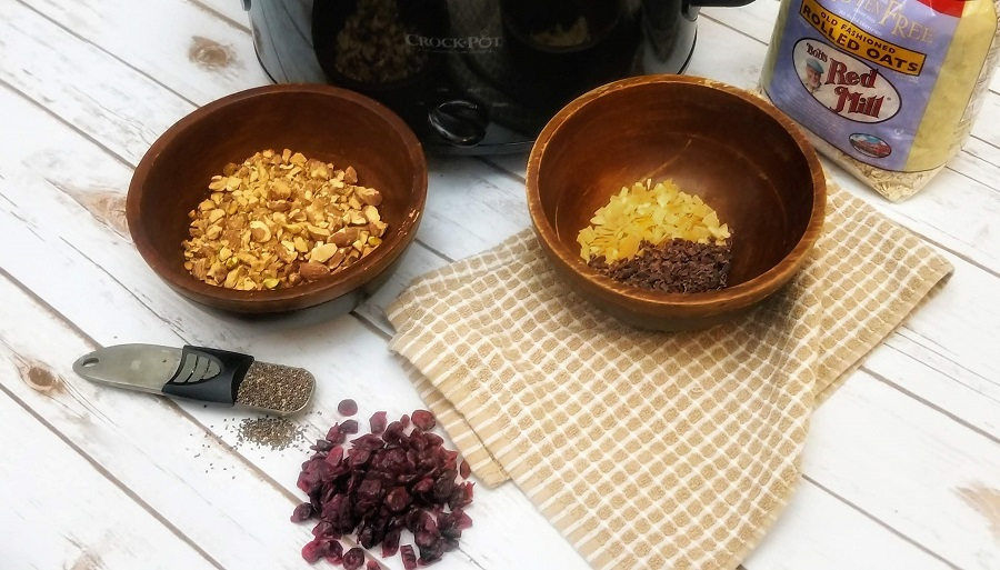 Crockpot Gluten Free Granola Recipe Granola Ingredients