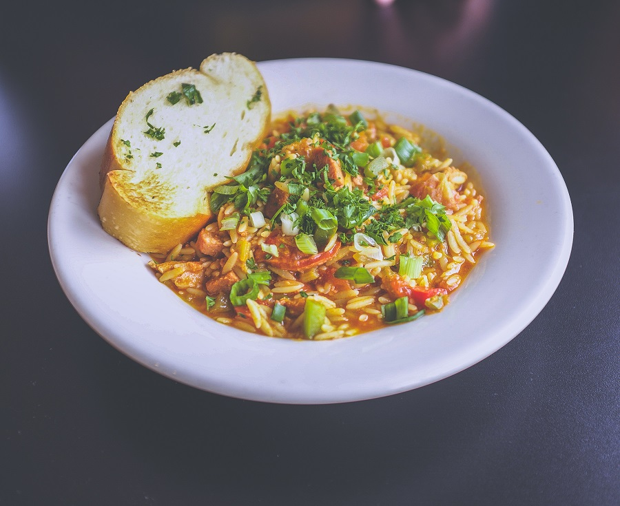 Crockpot Pantry Meals Bowl of Rice and Bread