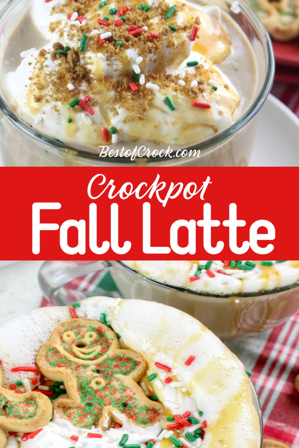 A crockpot Christmas latte is a great way to drink in the holidays and it is one of the easiest fall recipes to enjoy as a fall drink or holiday recipe. Christmas Recipes | Christmas Crockpot Recipe | Slow Cooker Recipes for Fall | Holiday Recipes | Holiday Drink Recipes | Easy Latte Recipe | Fall Crockpot Recipe | Slow Cooker Christmas Recipes #christmas #crockpot via @bestofcrock