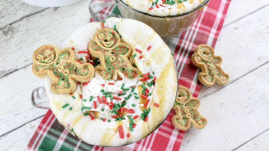 Crockpot Christmas Latte   Slow Cooker Fall Latte Recipe