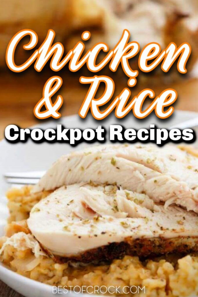 Keep these easy chicken and rice crockpot recipes on hand for easy meal planning.  Kids can even help make these as an easy crockpot dinner recipe. Crockpot Chicken and Rice with Canned Soup   Southern Chicken and Rice Recipe   Cheesy Chicken and Rice Crockpot Recipe   Crockpot Chicken and Rice Frozen Chicken   Crockpot Recipes with Chicken   Chicken Slow Cooker Recipes   Easy Crockpot Dinner Recipes #crockpot #chicken