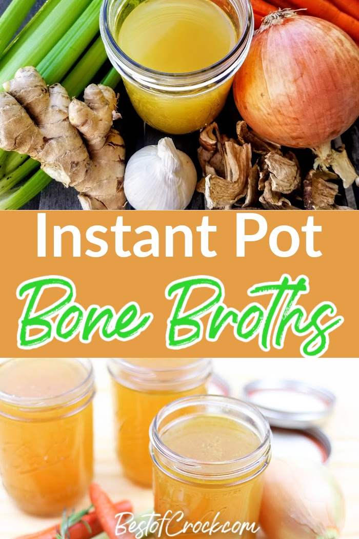 You can add a new level of health to any of your recipes with homemade Instant Pot bone broth recipes. Keto Bone Broth Instant Pot | How to Make Bone Broth | Instant Pot Chicken Broth | Instant Pot Broths for Soups | Instant Pot Bone Broth with Turmeric | Pressure Cooker Bone Broth Recipes | Healthy Instant Pot Recipes | Instant Pot Soup Recipes #instantpot #broth via @bestofcrock