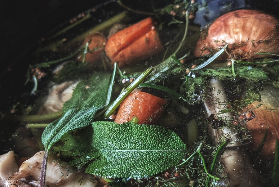 Crockpot Chicken Bone Broth Recipes Bone Broth Cooking