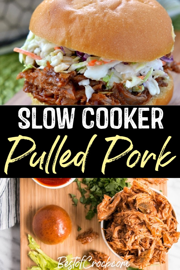 Slow cooker pulled pork recipes make meal prep even easier with so many different pulled pork flavors to choose from as you plan delicious dinner recipes. Slow Cooker Pulled Pork BBQ Sauce   Slow Cooker Pulled Pork Chops   Slow Cooker Pulled Pork Tenderloin   Crockpot Recipes with Pork   Crockpot BBW Recipes   Pulled Pork Crockpot #slowcooker #pork via @bestofcrock
