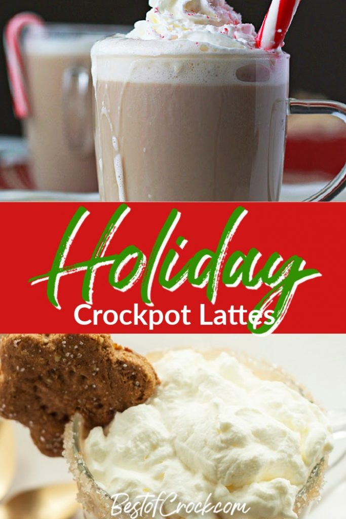 It is easier than ever to make slow cooker holiday latte recipes filled with seasonal flavors that can become part of your traditions. Slow Cooker Holiday Recipes | Slow Cooker Coffee Recipes | Vanilla Latte Recipe | How to Make a Latte | Holiday Crockpot Drink Recipes | Drink Recipes for Holiday Parties #holidays #slowcooker