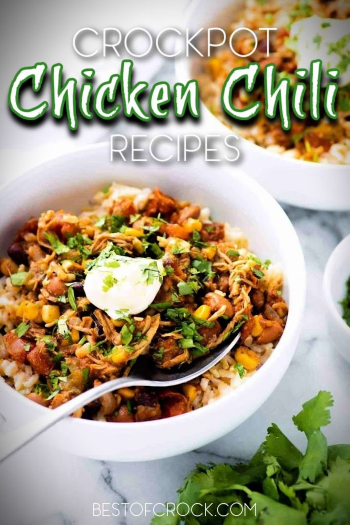 You can start experimenting with some of the best crockpot chicken chili recipes as a starter and then grow into cooking more delicious crockpot recipes from there. Slow Cooker Shredded Chicken Chili | Slow Cooker White Chicken Chili | Ground Chicken Chili Recipes | Red Chicken Chili | Crockpot Chili Recipes | Crockpot Recipes with Chicken #chili #crockpot