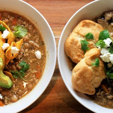 Crockpot Chicken Chili Recipes Two Bowls of Chili