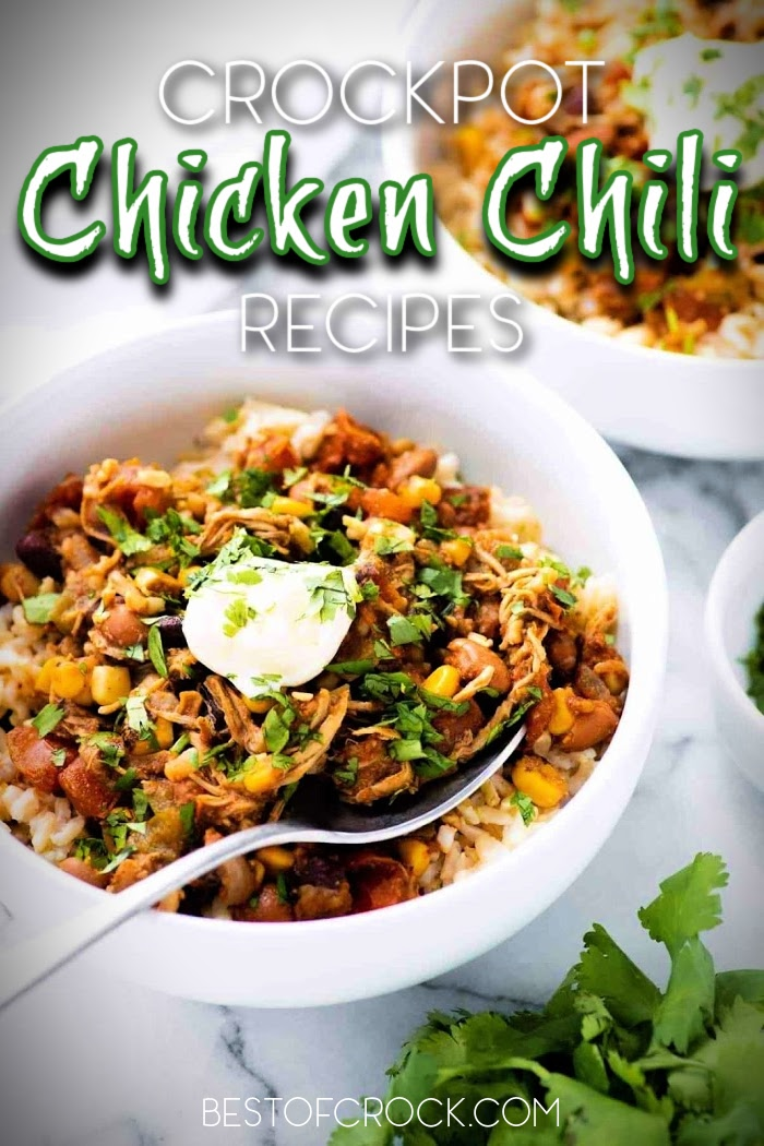 You can start experimenting with some of the best crockpot chicken chili recipes as a starter and then grow into cooking more delicious crockpot recipes from there. Slow Cooker Shredded Chicken Chili | Slow Cooker White Chicken Chili | Ground Chicken Chili Recipes | Red Chicken Chili | Crockpot Chili Recipes | Crockpot Recipes with Chicken #chili #crockpot via @bestofcrock