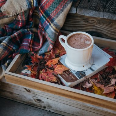 Hot Cocoa Crockpot Recipes a Cup of Hot Chocolate on a Serving Tray