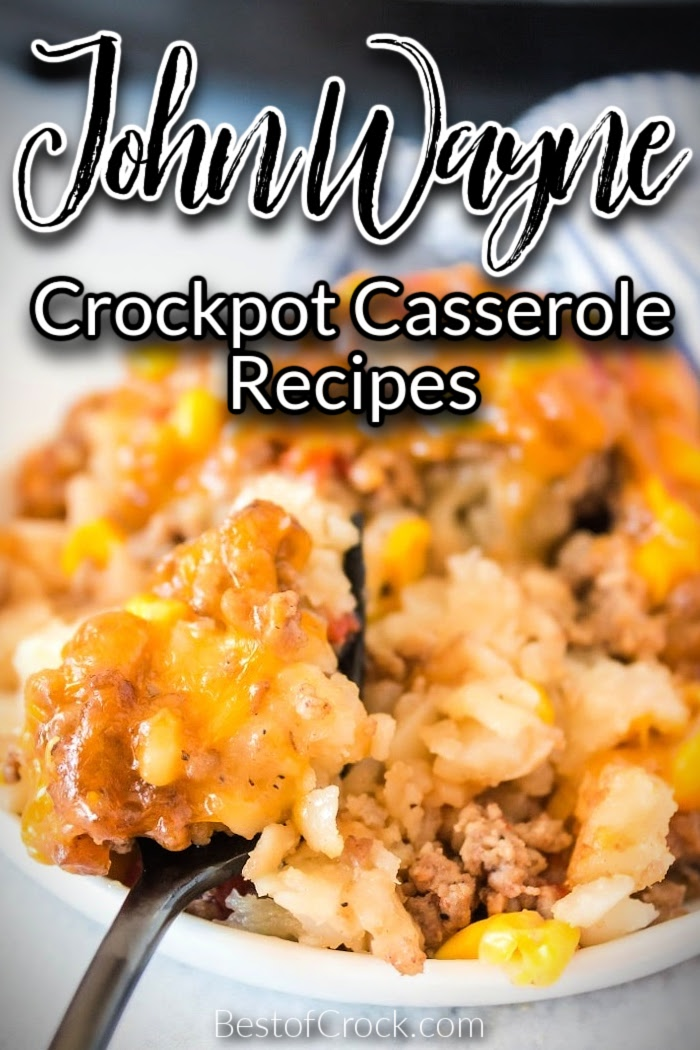 It is so easy to make John Wayne casserole with tater tots recipes for dinner! These are family favorites for everyone! John Wayne Casserole Recipe   John Wayne Casserole Biscuits   John Wayne Casserole Bisquick   John Wayne Casserole Recipe Slow Cooker   Tater Tot Casserole   Crockpot Tater Tot Casserole #crockpot #casserole via @bestofcrock