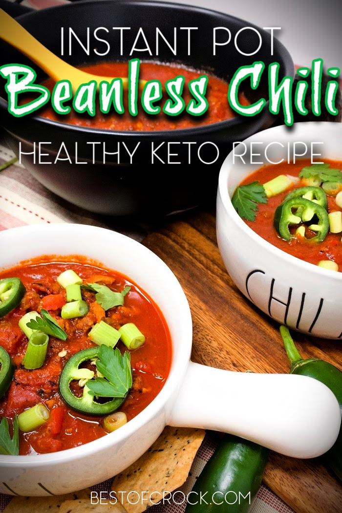 Beanless Instant Pot Ketogenic Chili Recipe Best Of Crock