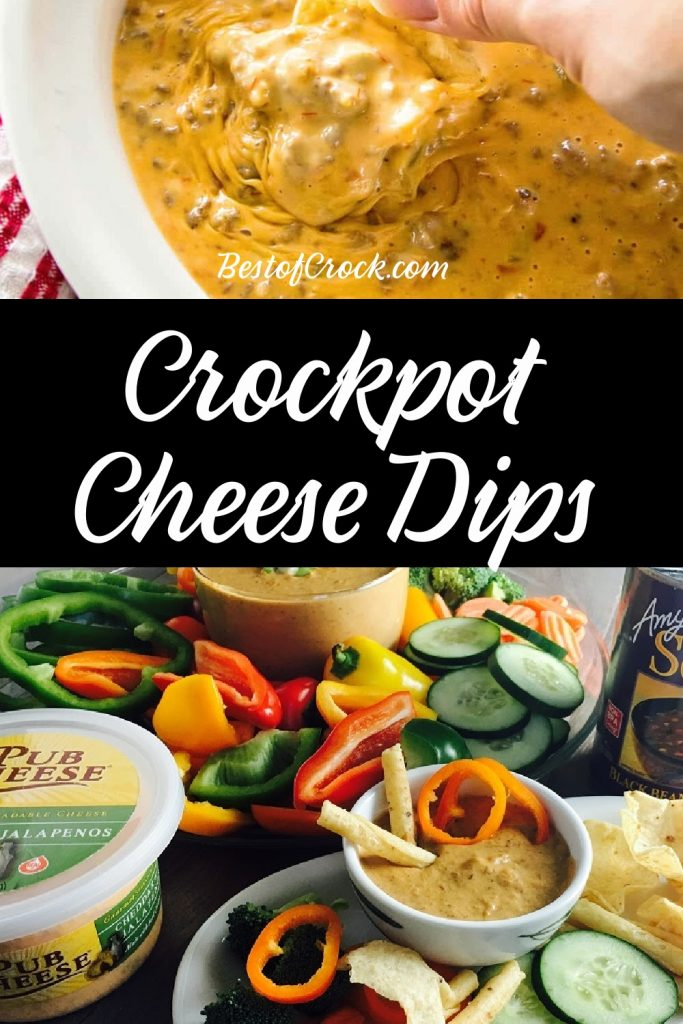 Crockpot cheese dip recipes are easy to make and can be used as party recipes, appetizer recipes or even as an easy snack recipe. Crockpot Cheese Dip Velveeta | Crockpot Queso Blanco | Slow Cooker Cheese Dip with Sausage | Cheese Dip No Meat | Cheese Dip with Beef Slow Cooker | Party Recipes | Crockpot Dip Recipes for Parties | Crockpot Party Recipes #crockpot #cheesedip