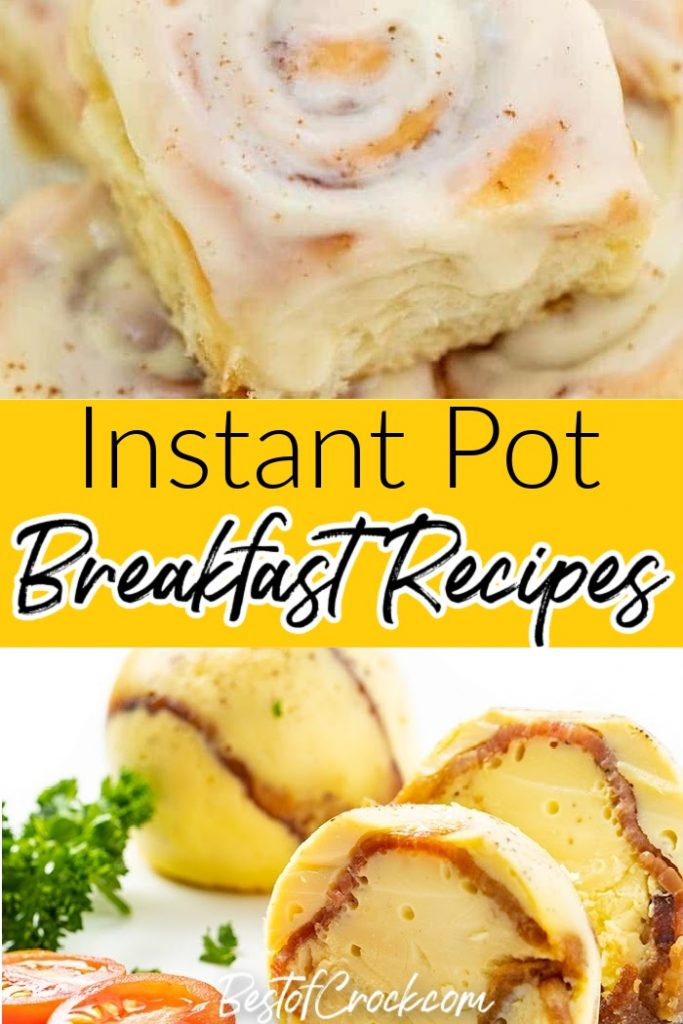 Instant Pot breakfast recipes are the quickest ways to enjoy a good breakfast even during those mornings where time seems to move too fast. Quick Breakfast Recipes | Healthy Breakfast Recipes Instant Pot | Instant Pot Breakfast Recipes Potatoes | Breakfast Casserole Recipes | Breakfast Recipes with Sausage #breakfast #instantpot