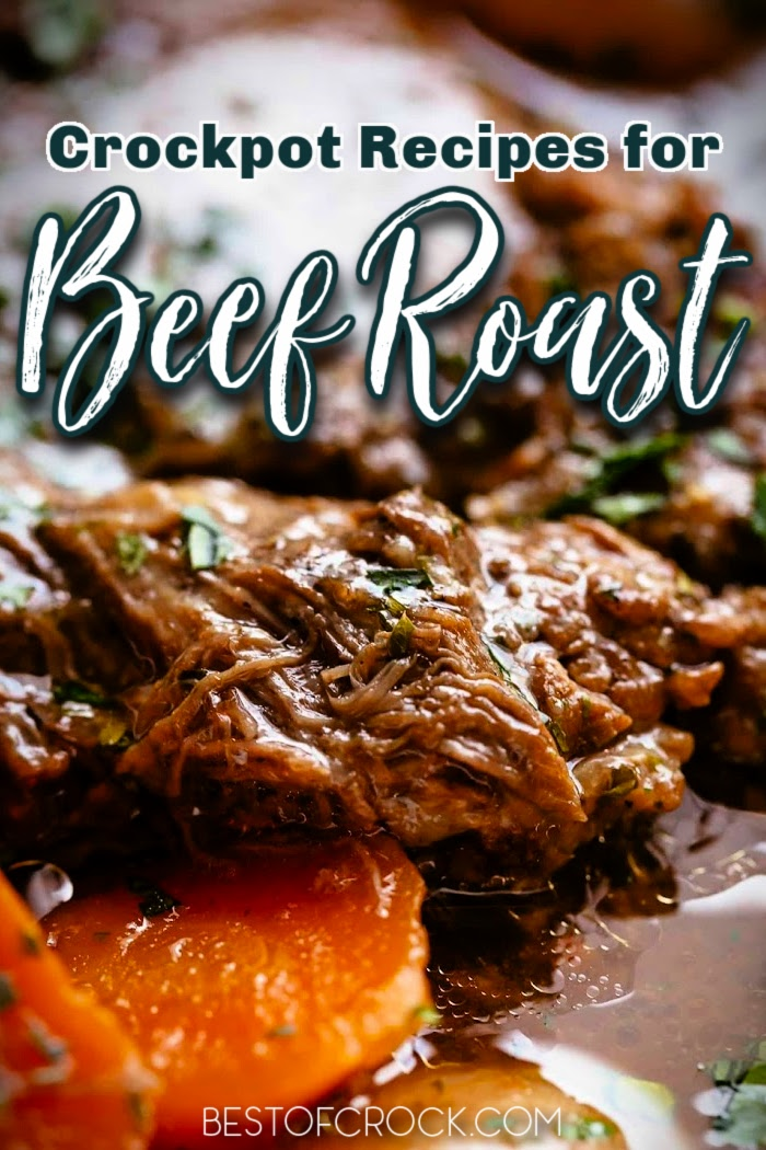 There are many crockpot recipes with beef, these classic crockpot beef roast recipes might be the best place to start with your crockpot. Crockpot Beef Roast with Vegetables | Slow Cooker Pot Roasts with Gravy | Beef Roast Recipes Crockpot Dinners | Crockpot Recipes with Beef | Crockpot Meal Planning | Crockpot Dinner Recipes #crockpot #beefroast via @bestofcrock