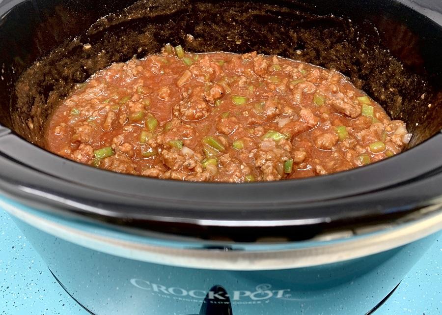 Crockpot Sloppy Joe Recipes meat Cooking in a Crockpot
