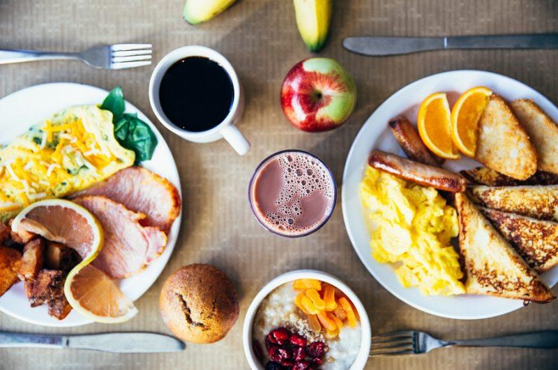 Instant Pot Breakfast Recipes a Breakfast Spread on a Table