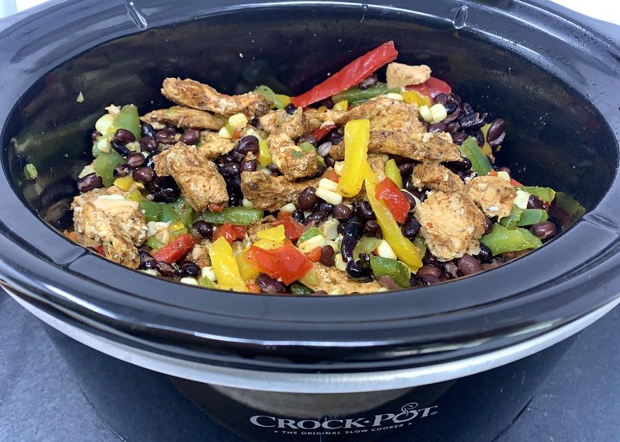 Chicken Fajitas Slow Cooker Recipes Chicken Fajitas in a Crockpot