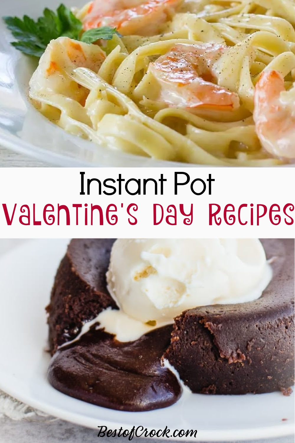 Instant Pot Valentine's Day recipes are the perfect way to show your love with a romantic dinner. Instant Pot Valentines Dinner | Instant Pot Valentines Desserts | Instant Pot Valentines Recipes | Instant Pot Recipes for Valentines Day | Romantic Instant Pot Recipes | Date Night Instant Pot | Instant Pot Date Night Recipes #valentinesday #instantpot via @bestofcrock