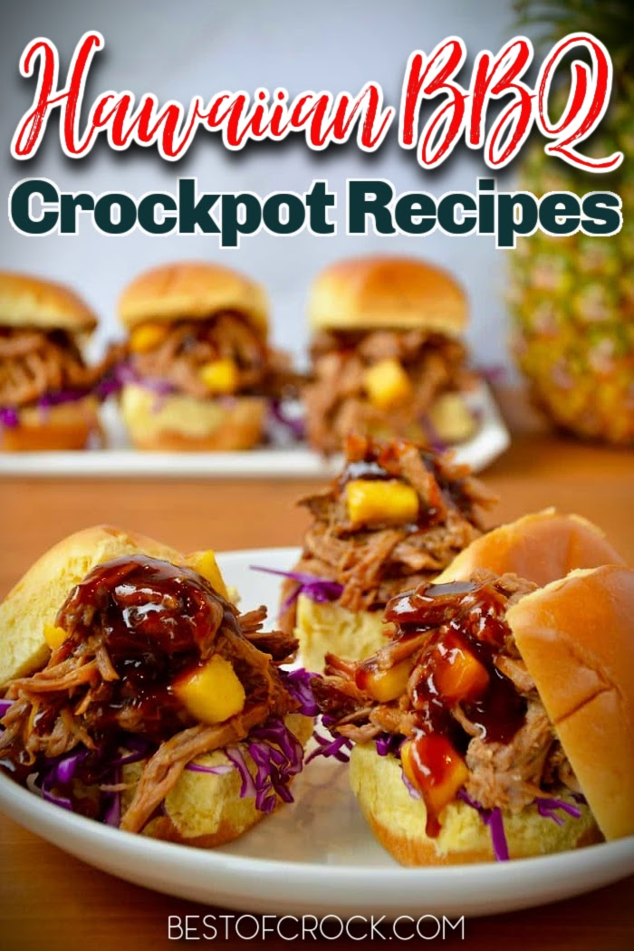 The best Hawaiian BBQ recipes can bring new flavors to your family dinner recipes that are flavorful. You can tailor the sweetness to your personal preference, too! Authentic Hawaiian Recipes   Hawaiian BBQ Pork   Crockpot Hawaiian Recipes   Hawaiian Recipes Authentic Hawaiian   Hawaiian Chicken Crockpot Recipes #crockpot #dinnerrecipes via @bestofcrock