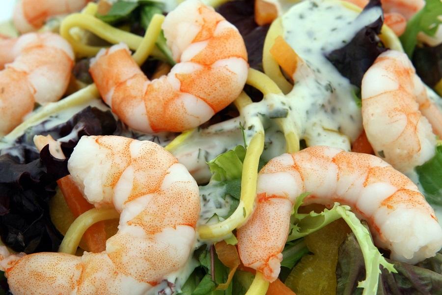Crockpot Shrimp Recipes Close Up of Shrimp Pasta