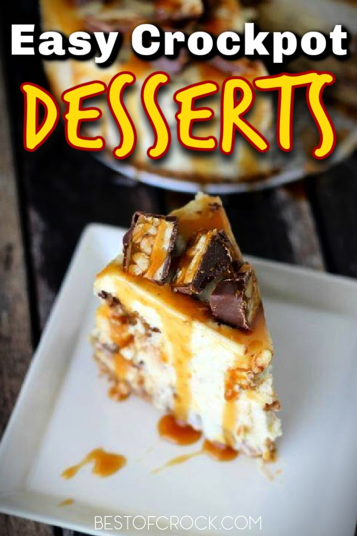 Crockpot desserts for a crowd make serving up party desserts or holiday desserts easier no matter how many people you serve or what the occasion. Crockpot Dessert Recipes | Crockpot Party Recipes | Dinner Party Ideas | Crockpot Cake Recipes Cake Mix | Crockpot Dessert Recipes 3 Ingredients | Easy Party Dessert Recipes #desserts #crockpot via @bestofcrock