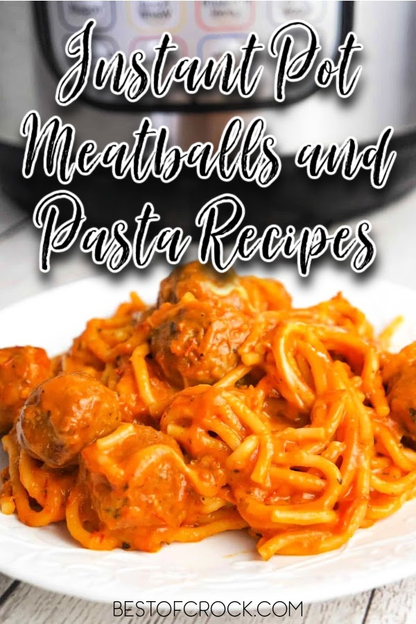 Instant Pot meatballs and pasta recipes are perfect for an easy quick dinner recipe and make the perfect date night recipe, too. Grape Jelly Meatballs Instant Pot | Instant Pot Beef Recipes | Frozen Meatballs Instant Pot | Date Night Recipes | Easy Pasta Recipes | Easy Family Dinner Recipes | Instant Pot Meal Planning | #instantpot #dinnerrecipes via @bestofcrock