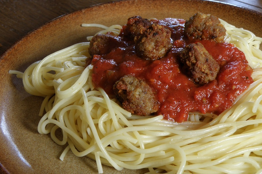Instant Pot Meatballs and Pasta Recipes A Plate of Spaghetti with Meatballs Ontop