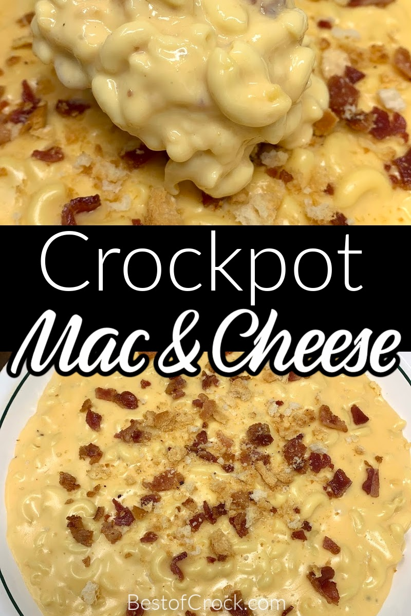 You haven't enjoyed mac and cheese until you have made a crockpot macaroni and cheese recipe that is perfect for weekly meal prep or scaled up as a party recipe. Crockpot Pasta Recipe | Slow Cooker Pasta Recipes | Healthy Dinner Recipes | Easy Pasta Recipes | Crockpot Recipes for a Crowd | Slow Cooker Recipes for Kids | Dinner Party Recipes | Crockpot Recipes Party #macandcheese #crockpot via @bestofcrock