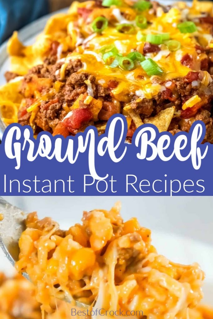 The best Instant Pot recipes with ground beef can help make dinner easy and exciting again as you try each delicious recipe. Ground Beef Recipes | Dinner Recipes with Ground Beef | Instant Pot Ground Beef and Rice | Instant Pot Hamburger Casserole | Korean Ground Beef Recipes | Easy Dinner Recipes | Instant Pot Dinner Recipes | Instant Pot Meal Planning #dinnerrecipes #instantpotrecipes