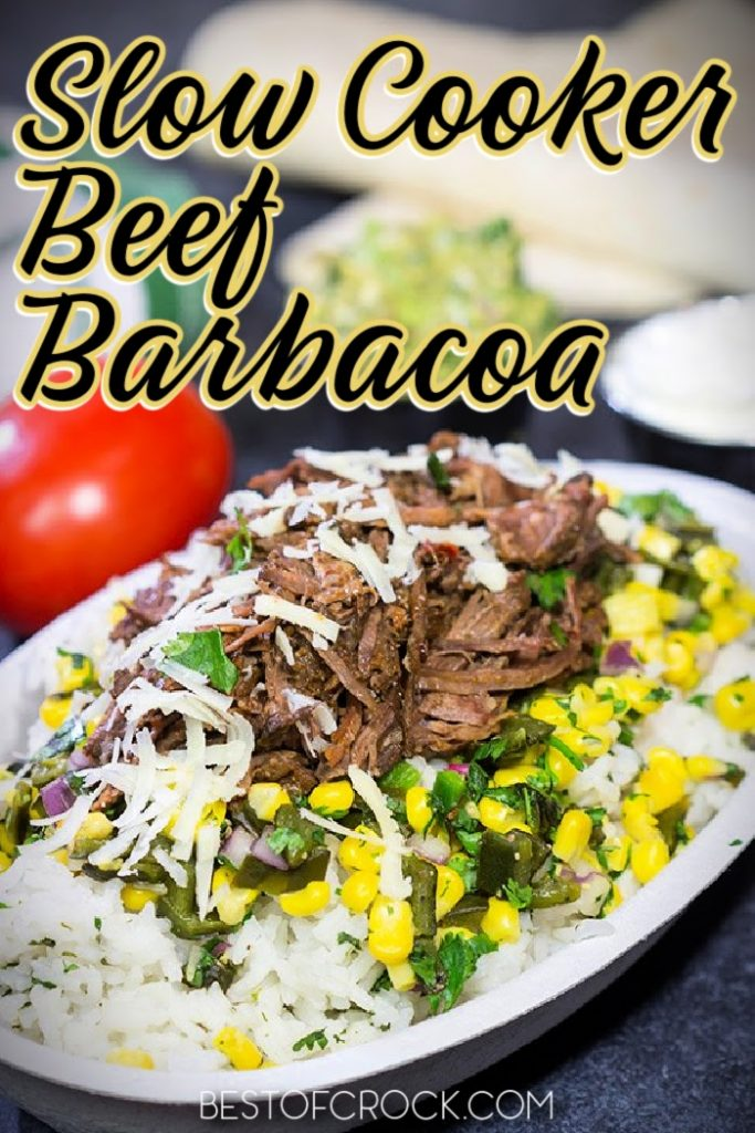 Slow cooker beef barbacoa recipes are versatile for meal prep and perfect for Taco Tuesday, salads, and countless easy dinner recipes. Slow Cooker Recipes with Beef | Crockpot Beef Recipes | Slow Cooker Mexican Food Recipes | Slow Cooker Barbacoa Tacos | Crockpot Barbacoa Recipes | Taco Tuesday Recipes Slow Cooker #mexicanfood #slowcookerrecipes