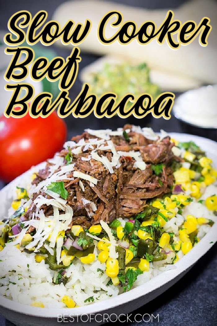 Slow cooker beef barbacoa recipes are versatile for meal prep and perfect for Taco Tuesday, salads, and countless easy dinner recipes. Slow Cooker Recipes with Beef | Crockpot Beef Recipes | Slow Cooker Mexican Food Recipes | Slow Cooker Barbacoa Tacos | Crockpot Barbacoa Recipes | Taco Tuesday Recipes Slow Cooker #mexicanfood #slowcookerrecipes via @bestofcrock