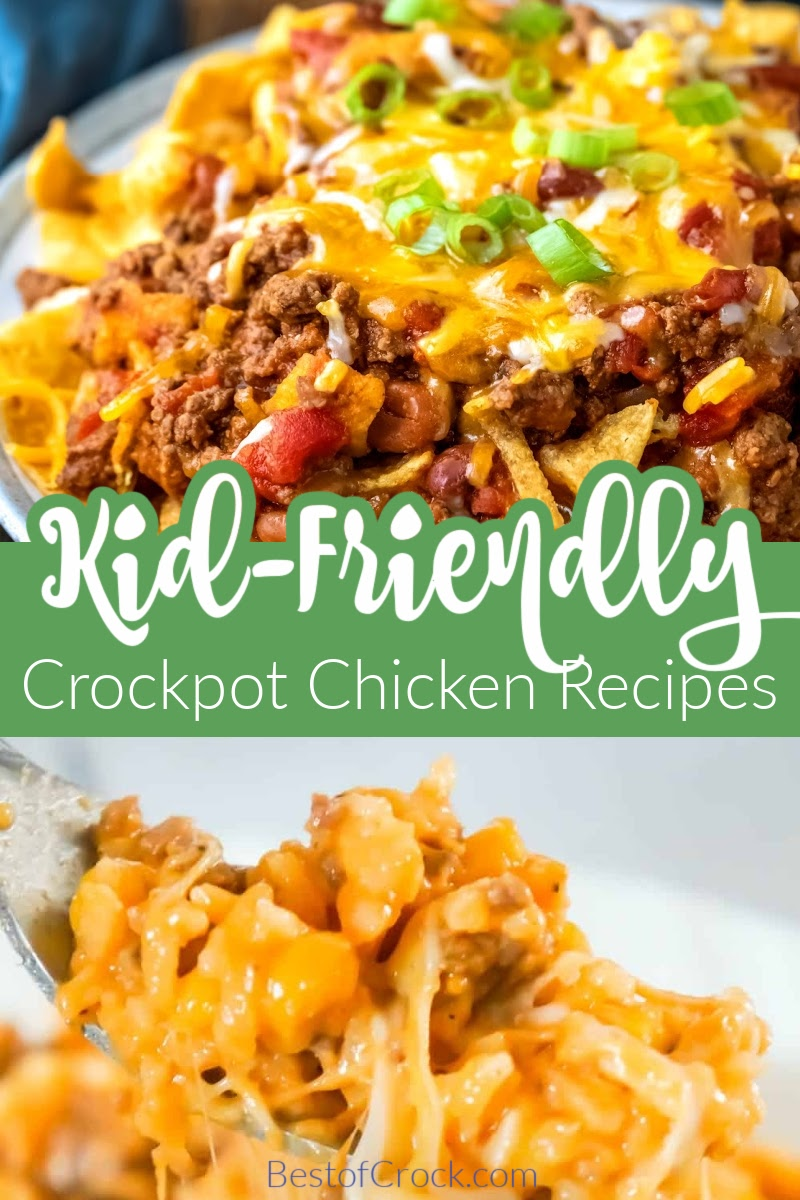 The best kid friendly crockpot recipes with chicken can help you expand your child's tastes and open them to a world of good food. Crockpot Chicken Recipes | Crockpot Recipes for Kids | Slow Cooker Kid Friendly Recipes | Crockpot Chicken Breast Recipes | Boneless Skinless Chicken Recipes for Kids | Kid Friendly Crockpot Recipes | Family Slow Cooker Meals | Kid-Friendly Dump Meals | Slow Cooker Family Meals on a Budget #crockpotchicken #kidfriendlyrecipes via @bestofcrock