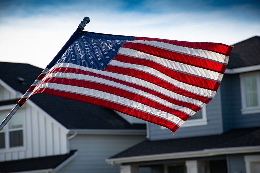 Instant Pot Memorial Day Recipes an American Flag Waving in the Wind