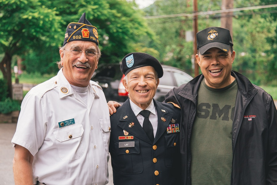 Instant Pot Memorial Day Recipes Three Veterans Standing Together
